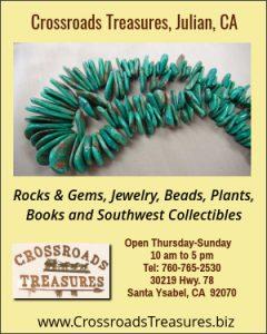 Crossroads Treasures, Santa Ysabel, CA