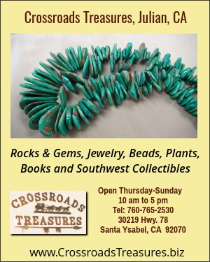 Crossroads Treasures, Santa Ysabel, CA