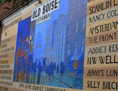 Mural in Boise, Idaho