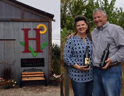 Gregg and Mary Houston, Houstin Vineyards