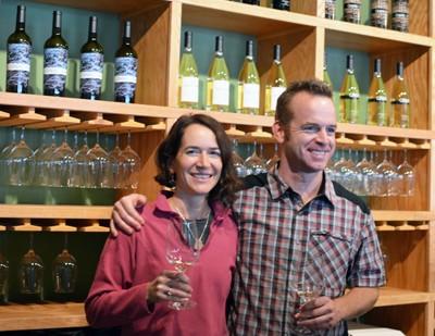 Melanie Krause, winemaker at Cinder Wines