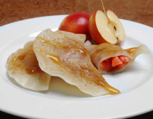 Sweet Crab Apple Pot Stickers