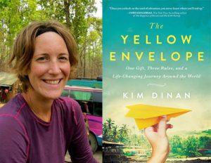 Kim Dinan, author of The Yellow Envelope