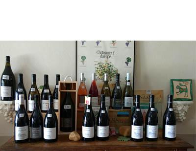 Wines at Domaine de la Janasse by Hilarie Larson