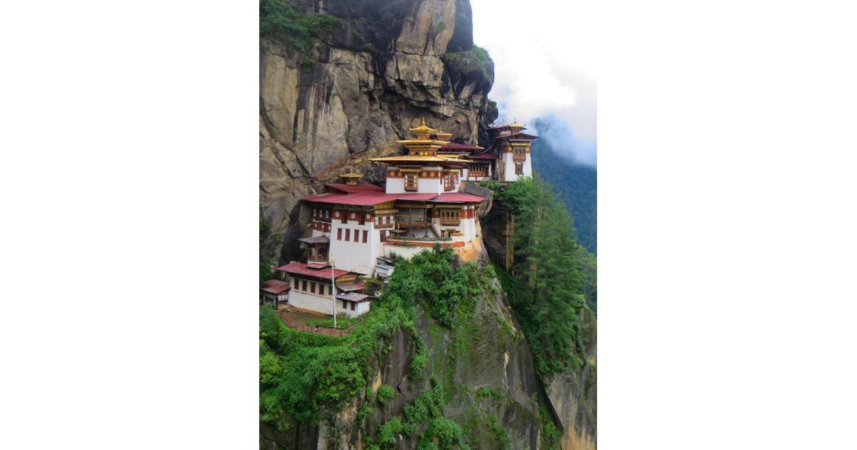 Tiger's Nest Monastery is Bhutan's most sacred site