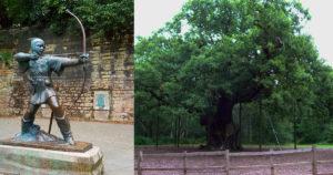 Robin Hood & Major Oak - Sherwood Forest