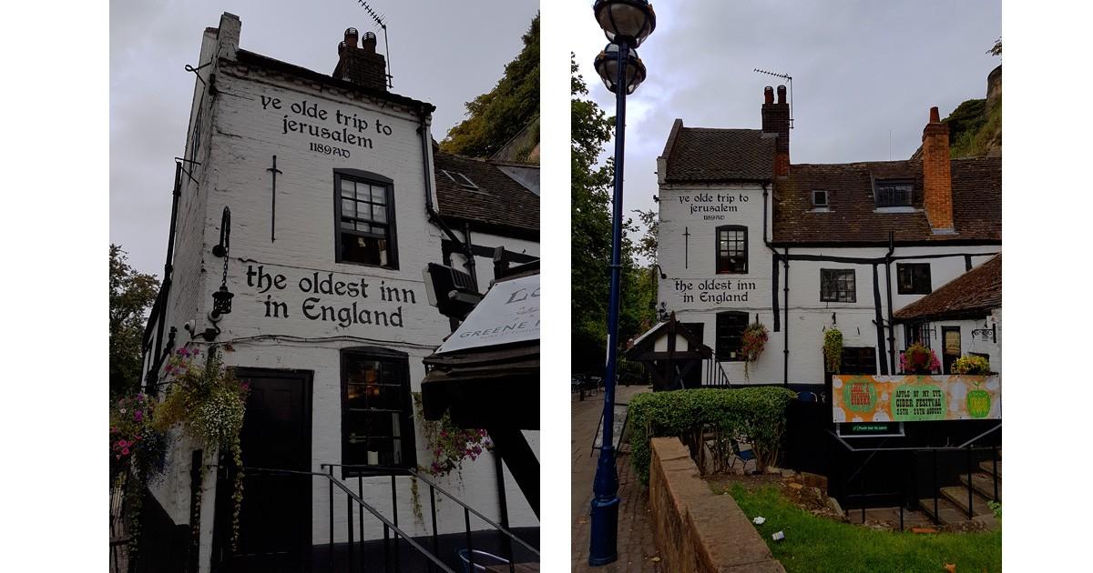 Ye Olde Trip to Jeusalem Inn - Nottingham, England