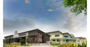 Community Development and Climate Action Center Design Rendering