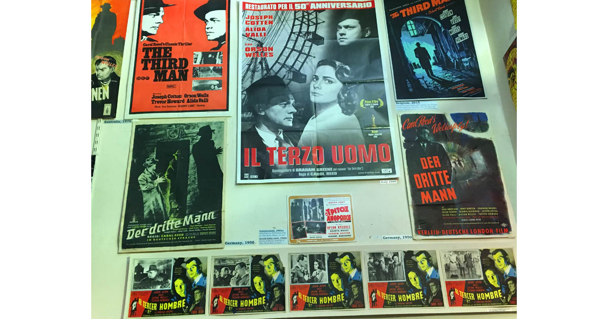 The 3rd Man Museum is dedicated to the classic film of the same name, which was filmed in Vienna.