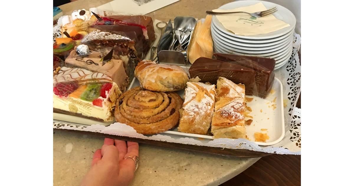 Viennese pastries, yum!