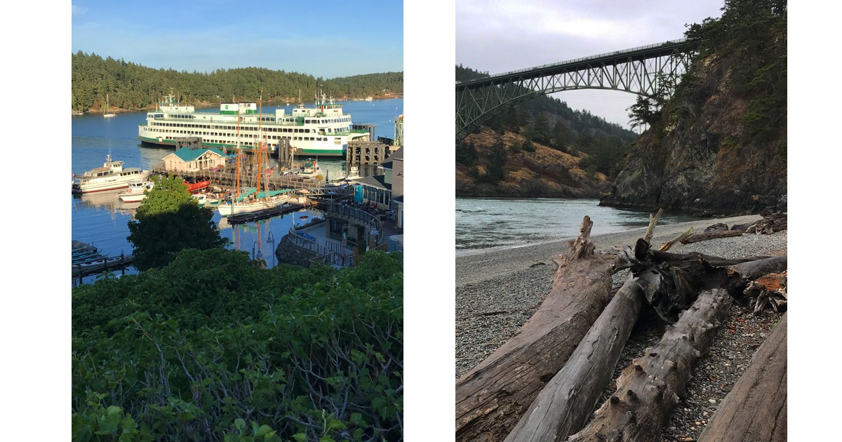 Deception Pass State Park & Friday Harbor Ferry Landing