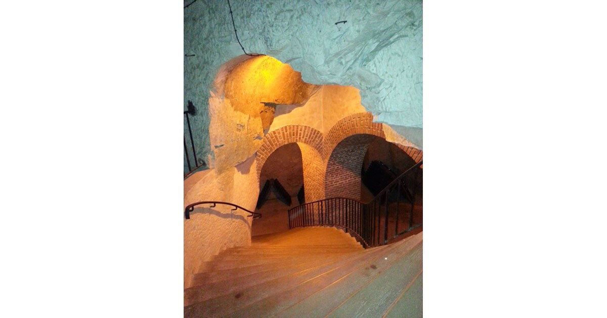 Down into the ancient chalk caves of Champagne at Taittinger
