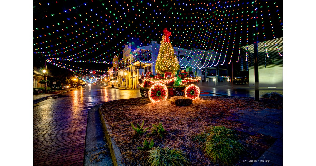 Christmas Lights In Natchitoches La 2017