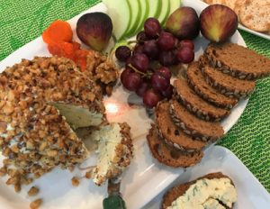 Walnut Covered Cheese Ball