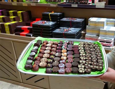 Bernard Castelain Chocolates by Hilarie Larson