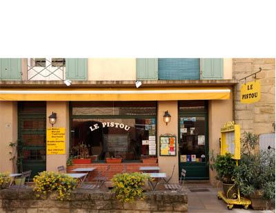 Restaurant Le Pistou by Hilarie Larson