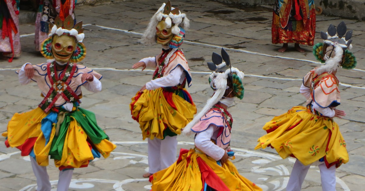 Festival dances have special meanings and stories behind them.