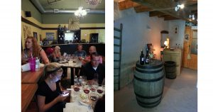 Wine Tasting should be fun - Tiny Tasting Room at Domaine de la Tour du Bon, Bandol