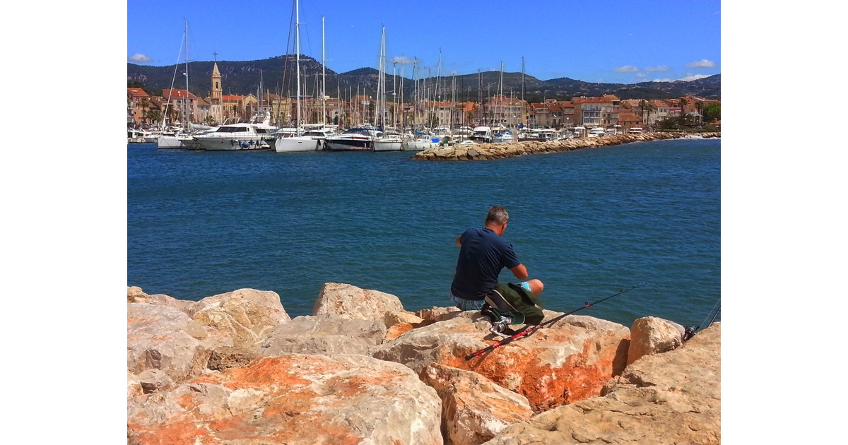 Fishing in Sanary-sur-Mer