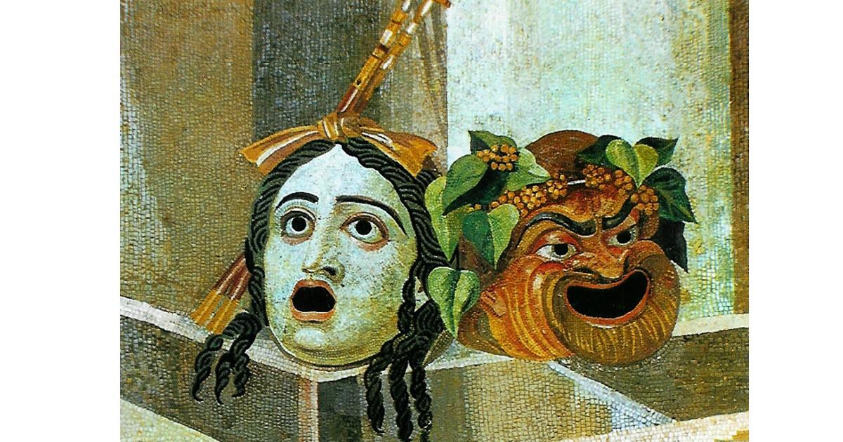 Roman Masks in Mosaic