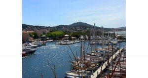 The harbor of Sanary-sur-Mer