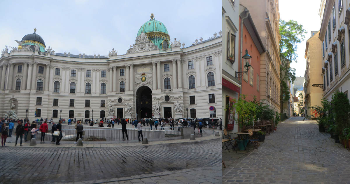 Vienna's grand architecture takes visitors back to the days of the Habsburg Empire