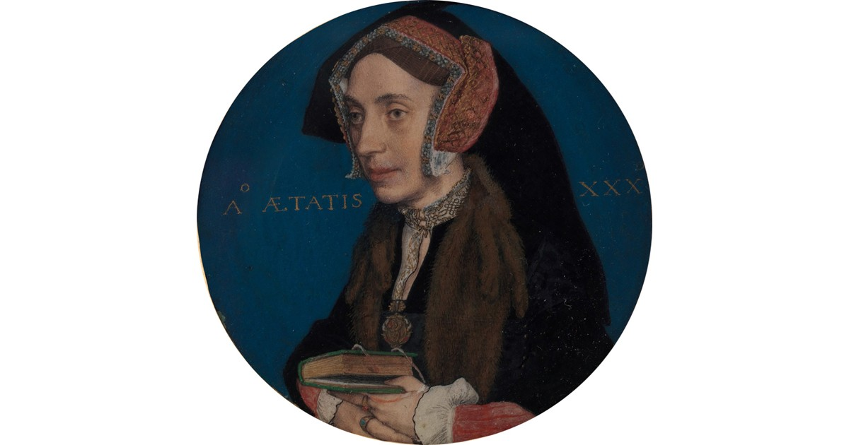 Portrait Miniature of Margaret Roper by Hans Holbein the Younger, c. 1535–36