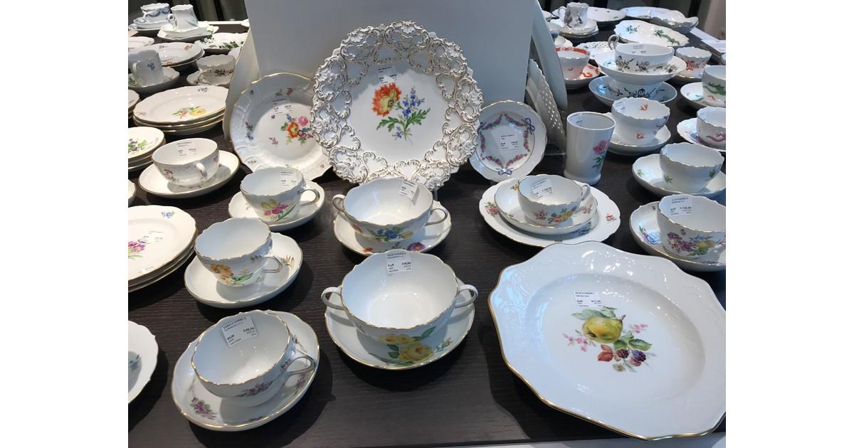 Meissen China Display