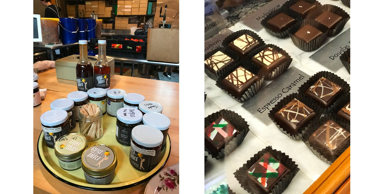 Girl Meets Dirt Products & Katherine Taylor Chocolates