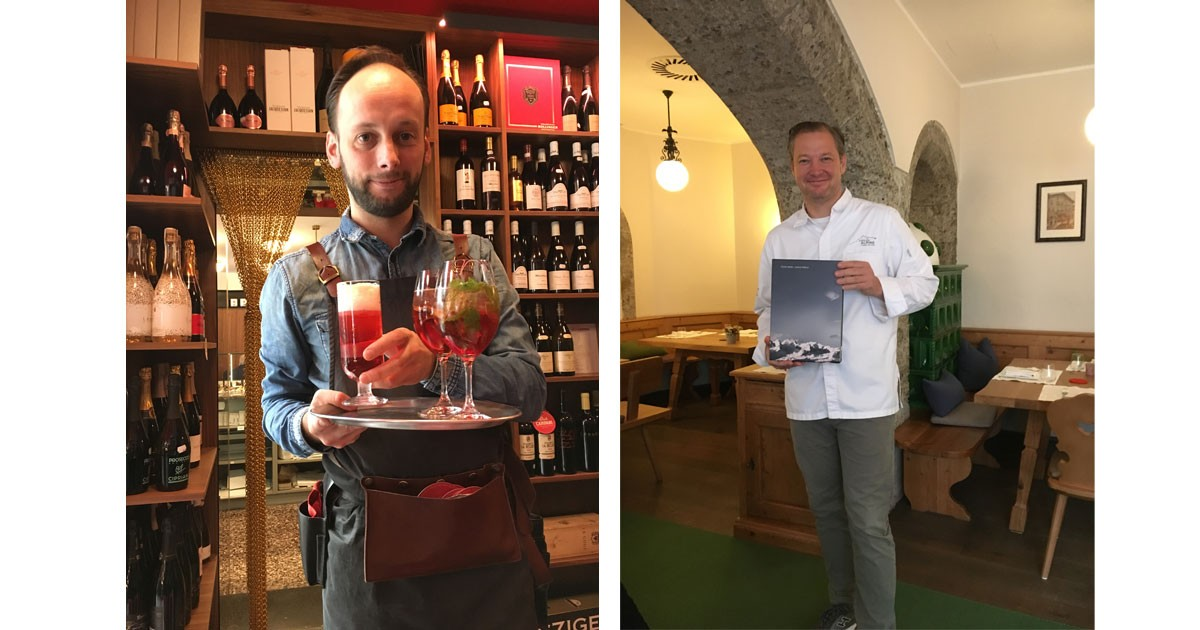 Care for a libation & Award-winning Chef D¦llerer has a reputation for using regional products and melding tradition with innovation
