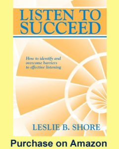 Listen to Succeed by Leslie B. Shore