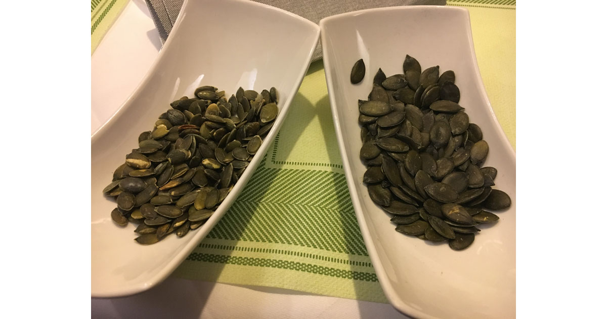 Styrian pumpkin seeds are prized