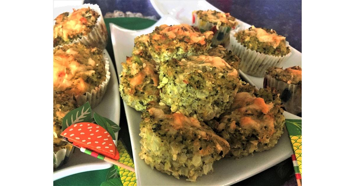 Brocolli-Quinoa-Muffins