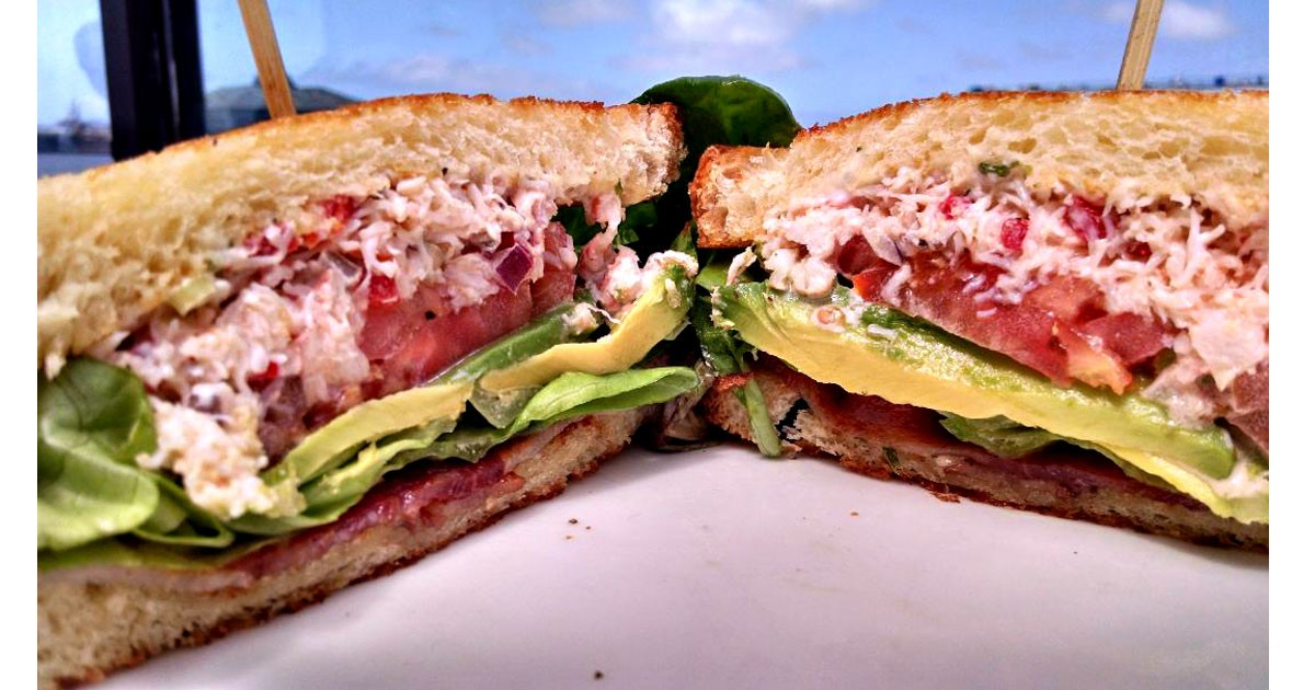 Seafood Sandwich recipe