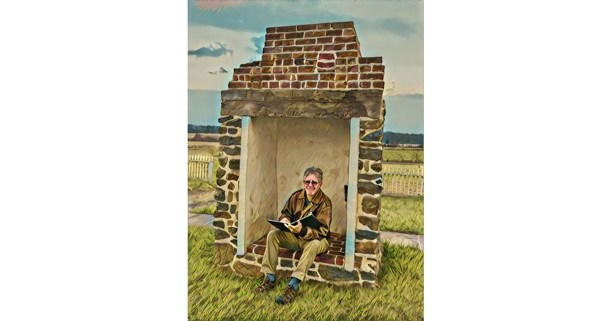Combat Artist Chip Beck's Gettysburg Experience