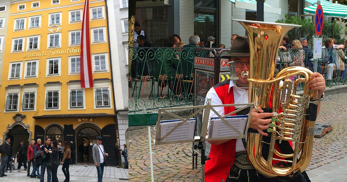 Salburg attracts musicians and music lovers.