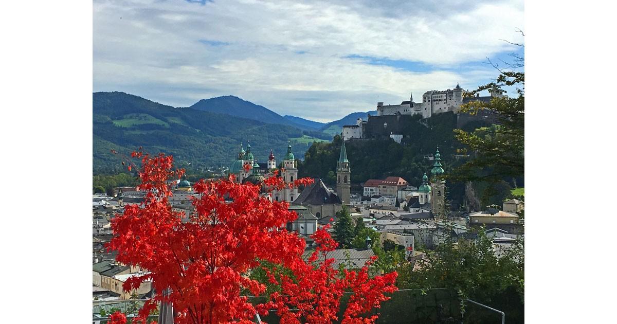 A view of Salzburg