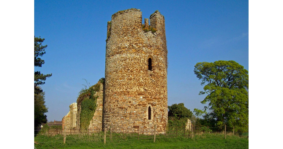 Ruins of a Round Tower Church