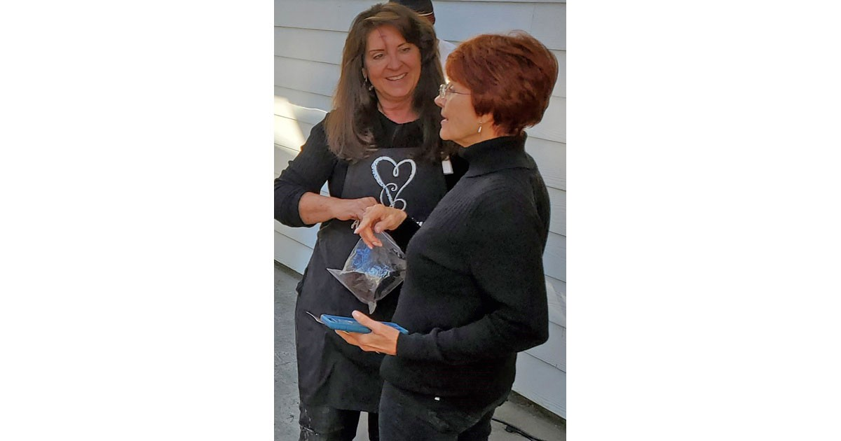 Andrea Faye and Linda Wilburn at SHAST 2019