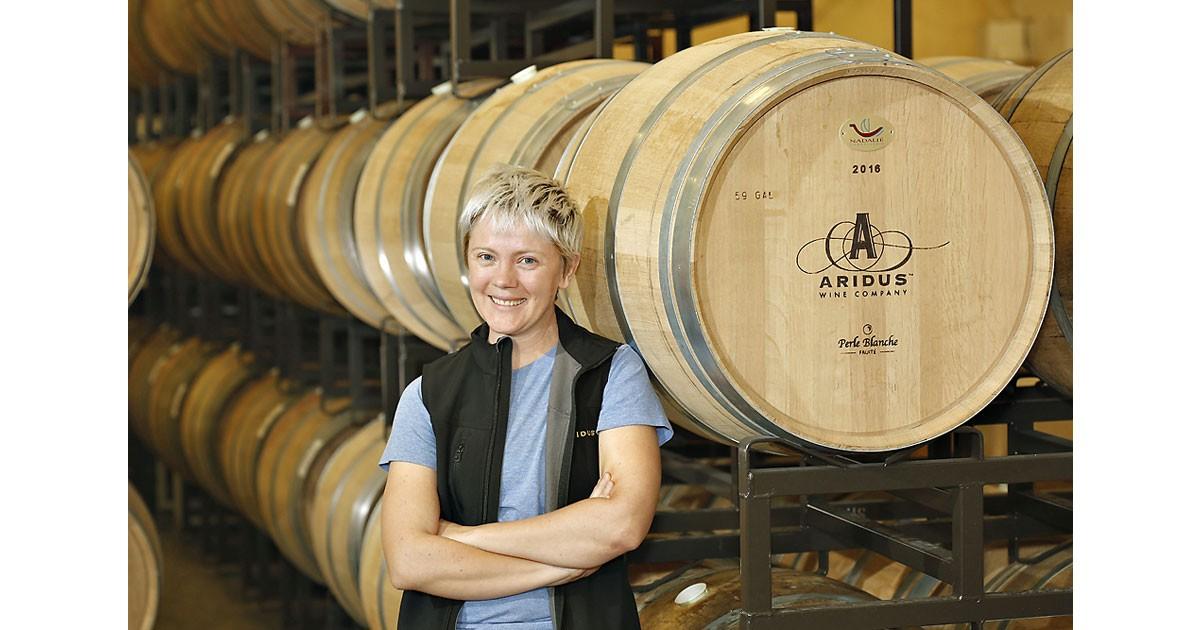 Aridus Winemaker Lisa Strid (C) Aridus Wine Co