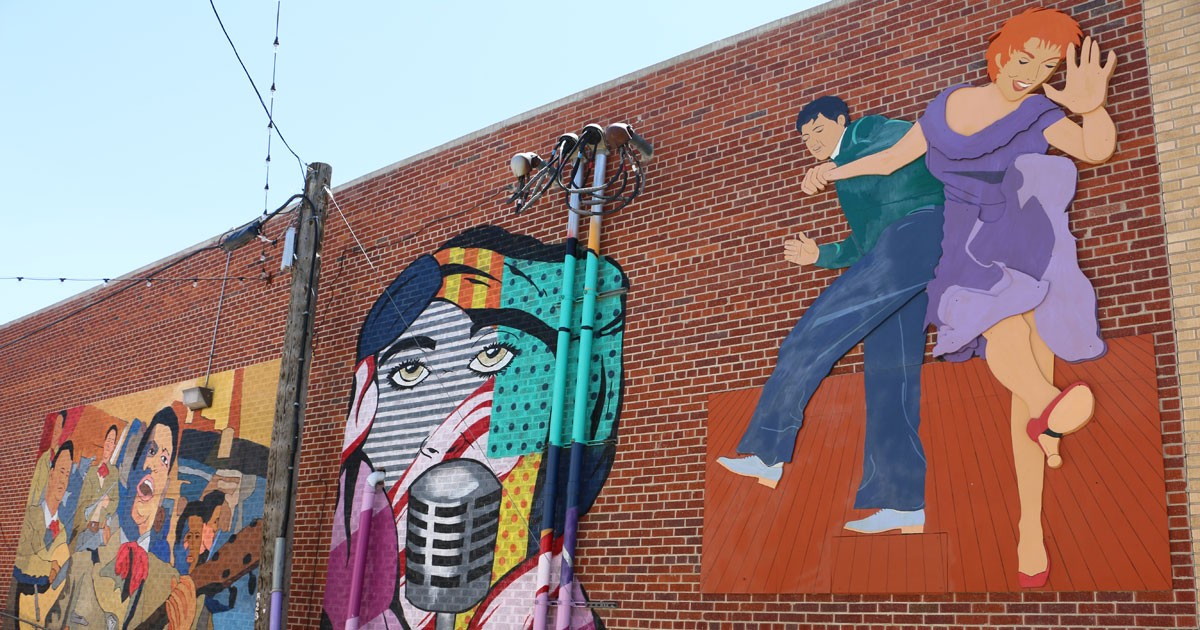 Art Alley Murals in downtown Greeley, Colorado