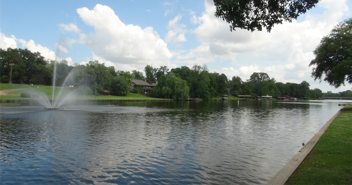 Cane River Lake: Natchitoches, Louisiana