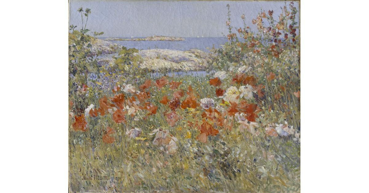 Celia Thaxter's Garden, 1890