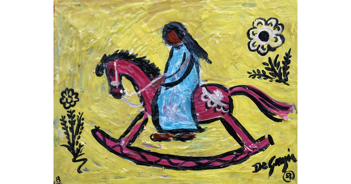 DeGrazia-Encaustic-Painting