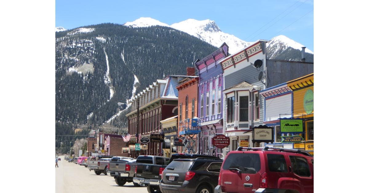 Downtown Silverton View