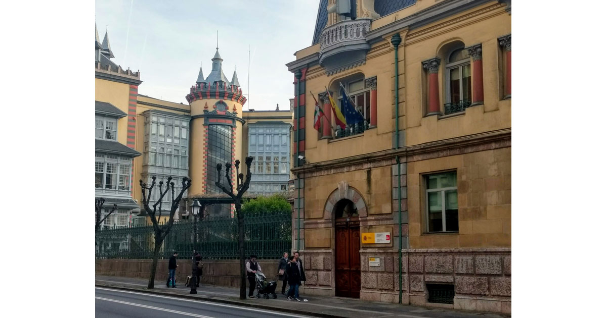 Eclectic architecture is a hallmark of Bilbao