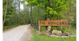 Entrance to the Mohicans. C Mary Farah