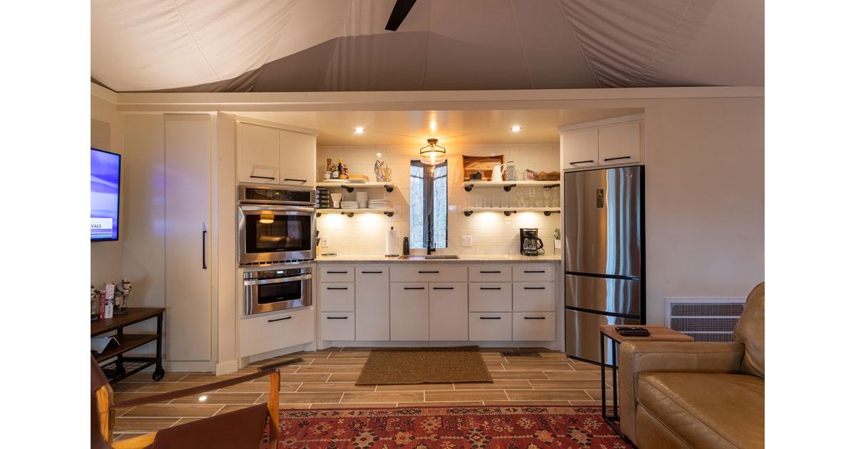 Exclusive Tents Kitchen