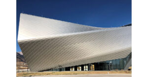 Exterior of the Olympic Museum