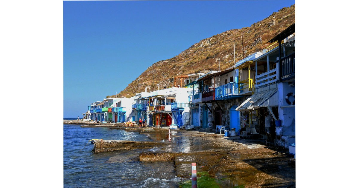Fishing Village, Greece